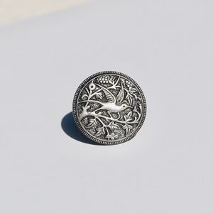 Jewelry - Vintage silver bird ring